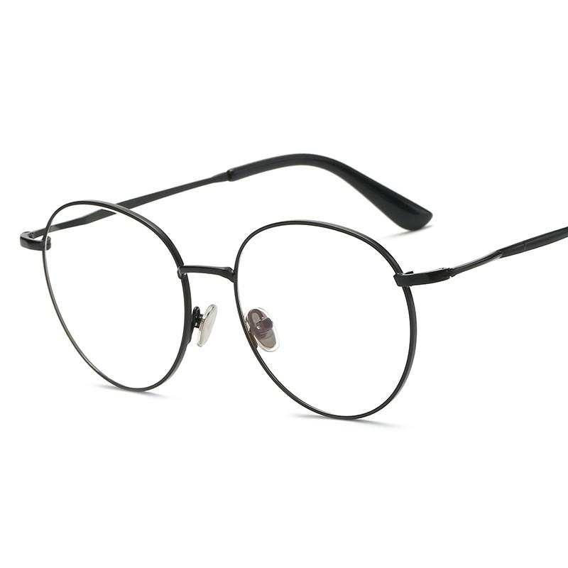 9b68b0c11c3 Nearsighted Glasses women Elegant round Frame Small Face Ultra-Light with  Nearsighted Glasses Box Korean