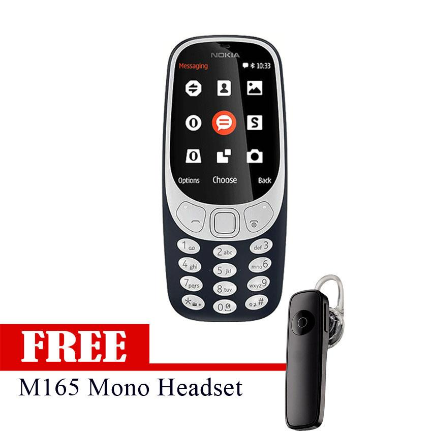 3310 With free M165 Headset (Black)