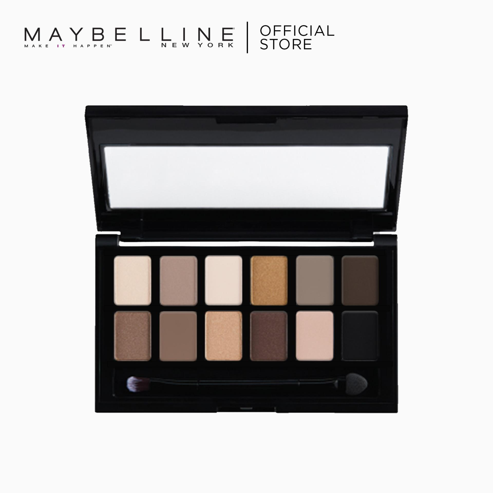 The Nudes 12-in-1 Eye Shadow Palette by Maybelline Philippines
