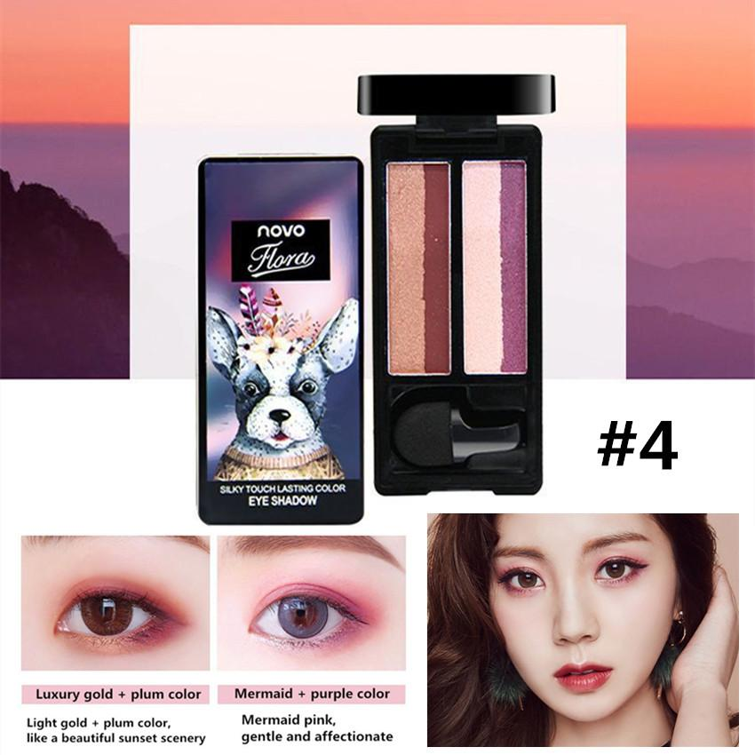Candy Online NOVO #5231 4 Color Gradient Eye Shadow Makeup Philippines