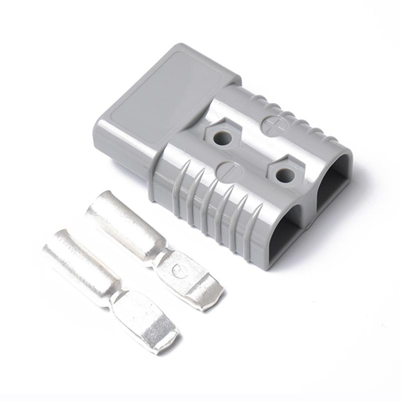 Qimiao 175a 600v Forklift Connector Adapter Plug With 2 Ports Battery Power Plug Specification:a0179-02 By Qimiao Store.