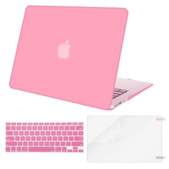 MacBook Plastic Hard Case Shell with Keyboard Cover with Screen Protector Compatible MacBook Air 13 Inch (Models: A1369 and A1466)Release 2018/ 2017/ 2016 / 2015 / 2014 / 2013 / 2012 (NEWEST VERSION)