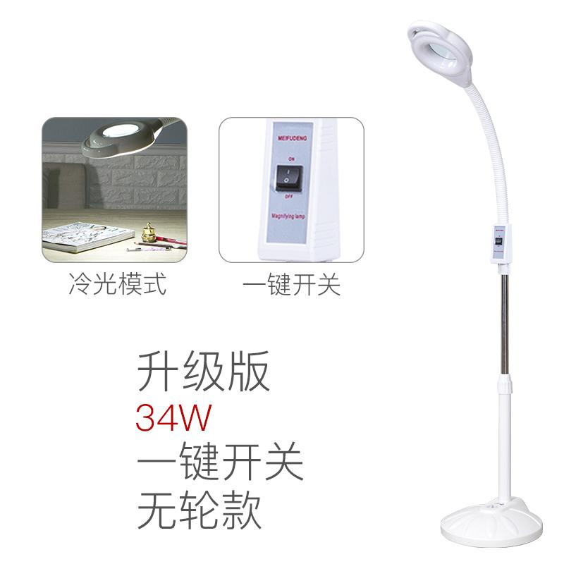 Beauty Salon Cold Light Lamp Magnifying Glass Tattoo Light natural detox rong deng Hot Lamp Tattoo Light Shadowless Floor Lamp LED Light Philippines