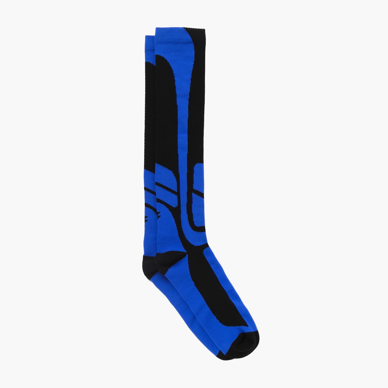 4de91cb03ff For Bare Feet Mens Surge Compression Sports Knee-High Socks (Black Blue)