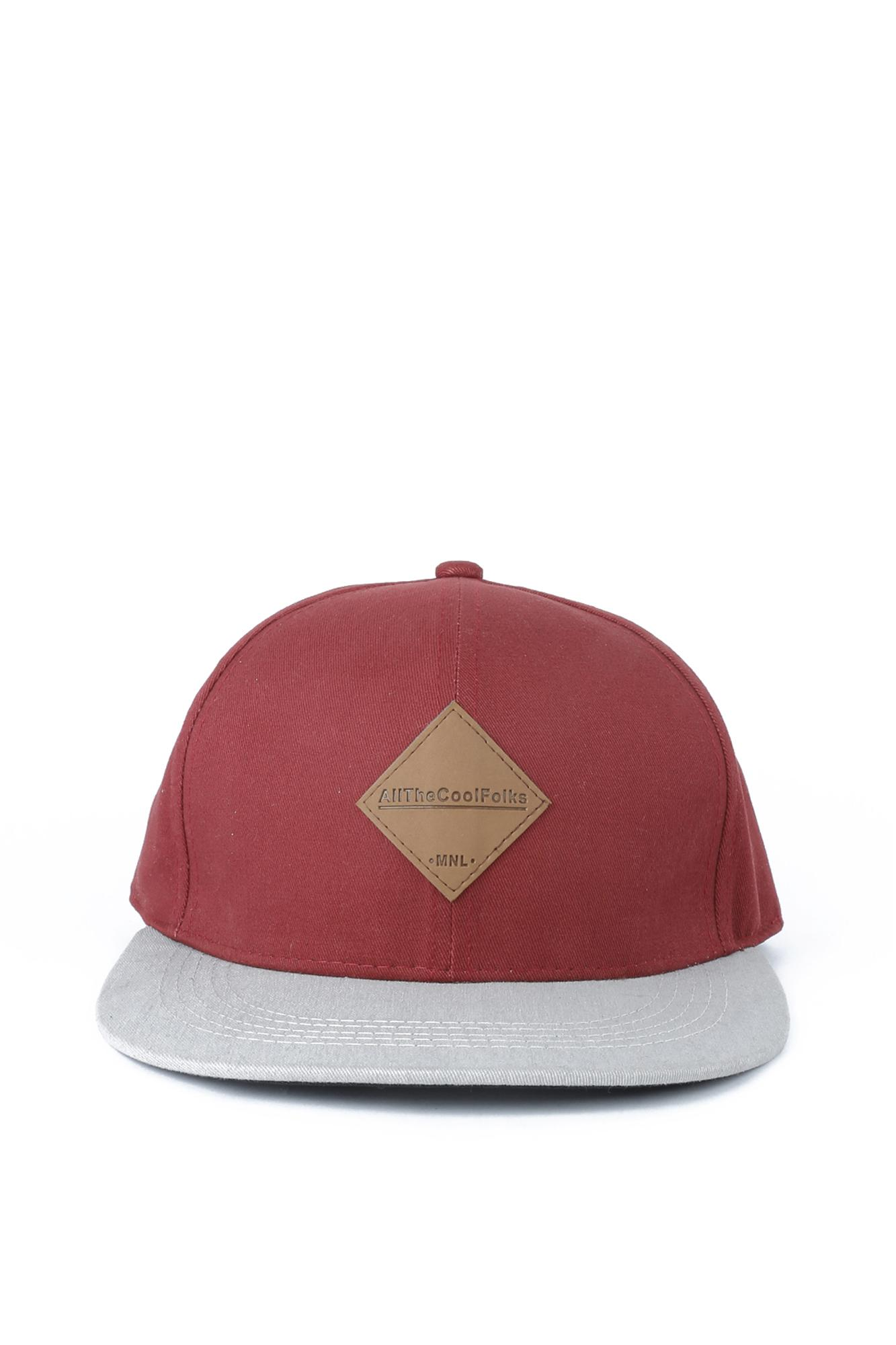 ddef1482621 Penshoppe Baseball Cap With Patch (Maroon) Philippines