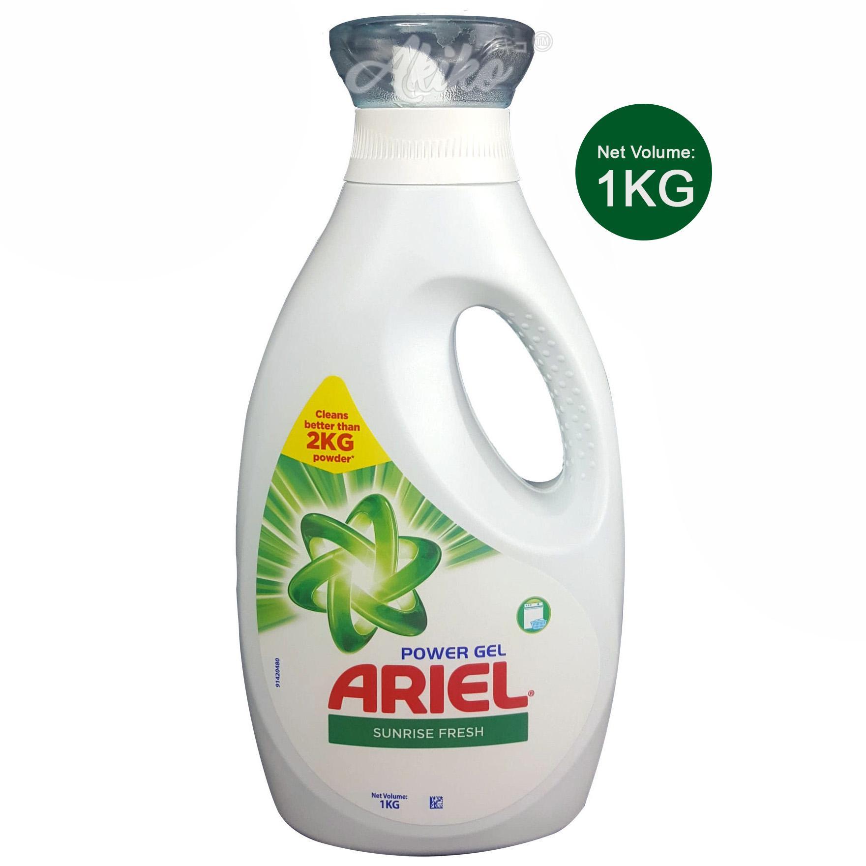 Ariel Power Gel Sunrise Fresh Liquid Detergent 1L