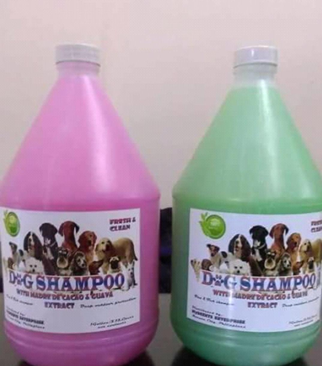 4 Liters Dog Shampoo Madre De Cacao With Guava Extract By Rgjay10489.