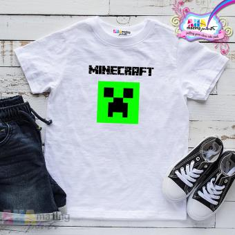 KIDS SHIRT ❤ MINECRAFT SHIRT for Little Boy ❤ Kids Fashion Top Boys Little BoysCotton Statement Shirt Casual Custom Shirt Childrens Wear Baby T-Shirt Cute Trending High Quality Round Neck