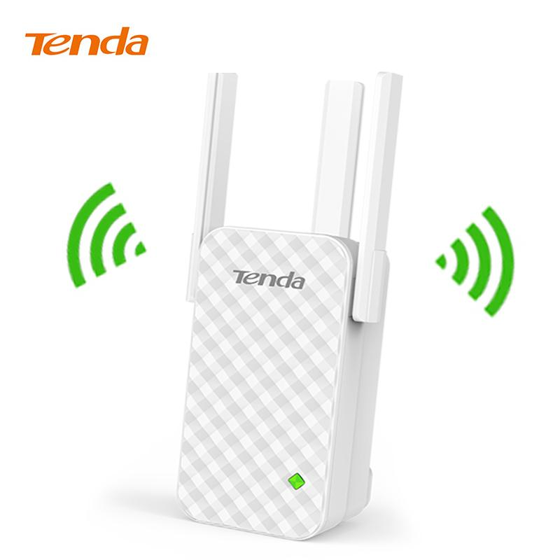 Tenda A12 300Mbps WiFi Repeater Wireless Range Extender Wi-Fi Signal  Amplifier Expander, Perfect Partner of Wireless WiFi Router