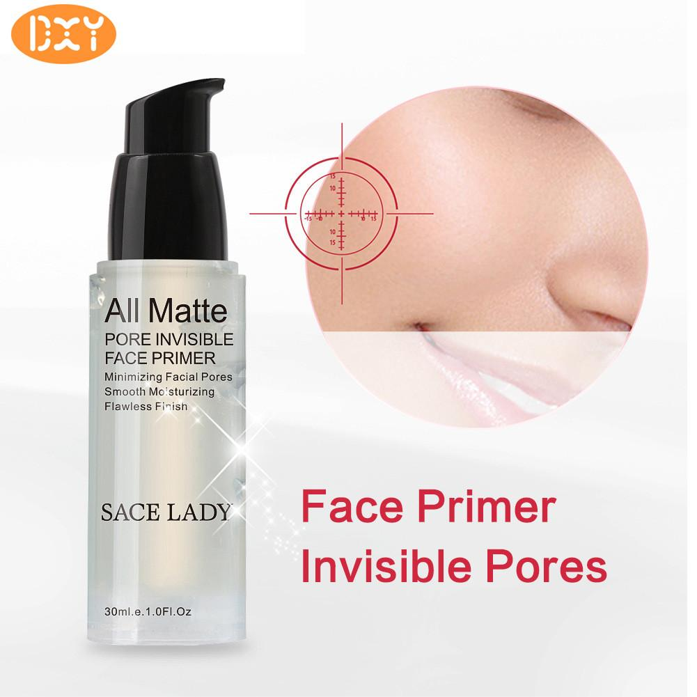 DXY-SACE LADY Face Primer Base Makeup Natural Matte Make Up Foundation Primer Pore Invisible Extend Facial Oil-control Cosmetic 30ML - intl Philippines