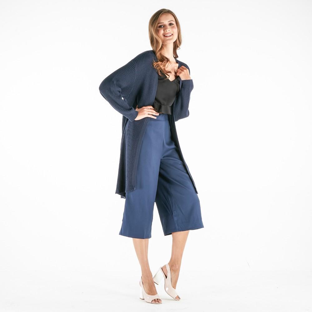 Forme Boxy Cardigan (Navy Blue)
