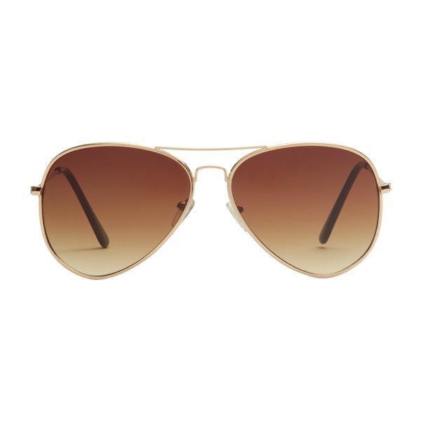 1b63e328d80 Sunnies Studios Taylor Pilot Sunglasses for Men and Women (Sepia Gradient)