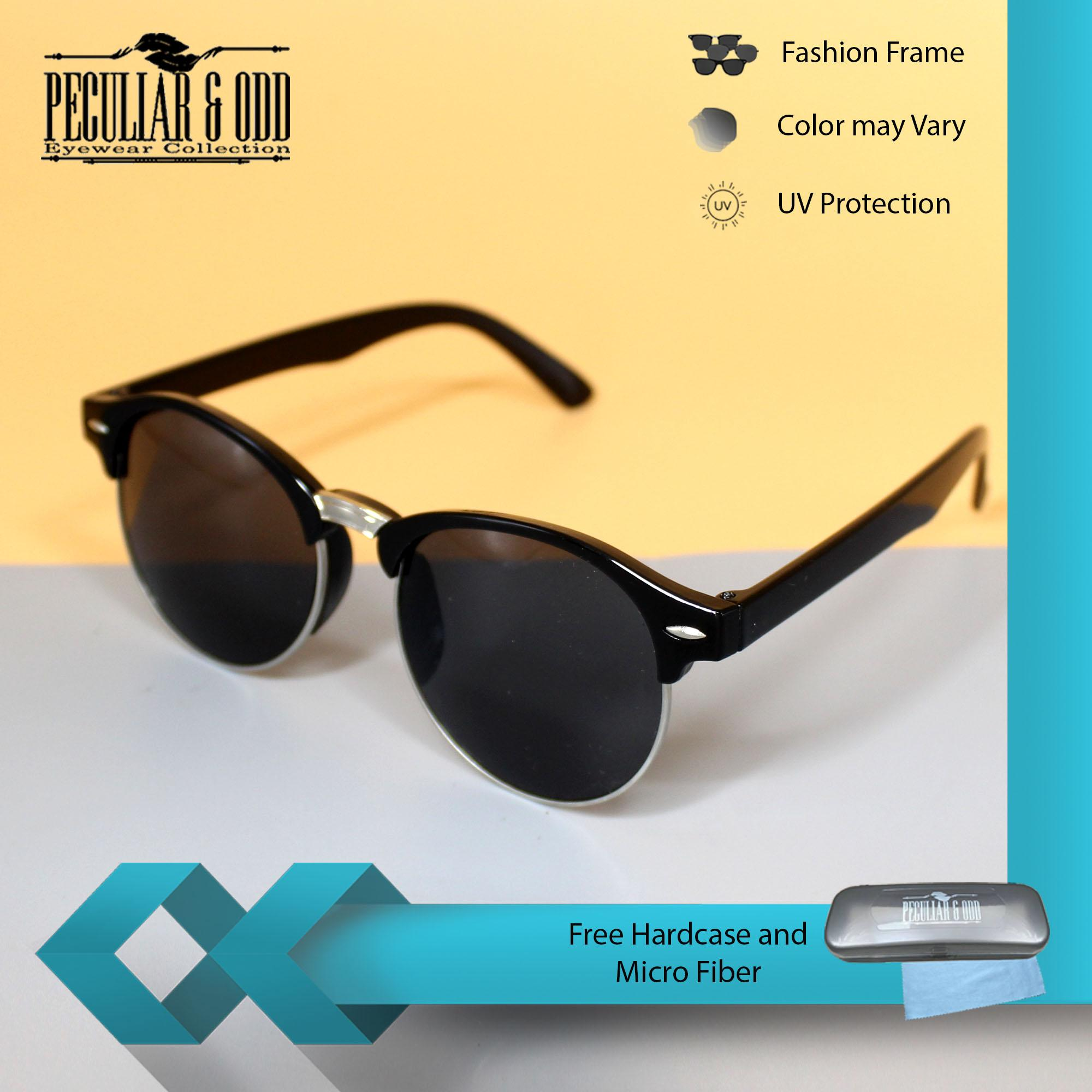 12ecdf4ff9b Clubmaster Round 3399 BlackBlack Classic Sunglasses with Black Flash Lenses
