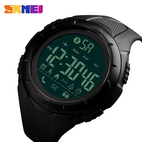 SKMEI Men Smart Sport Watch Outdoor Watches Fashion Pedometer Calorie Bluetooth Smartwatch Waterproof Wristwatch 1326