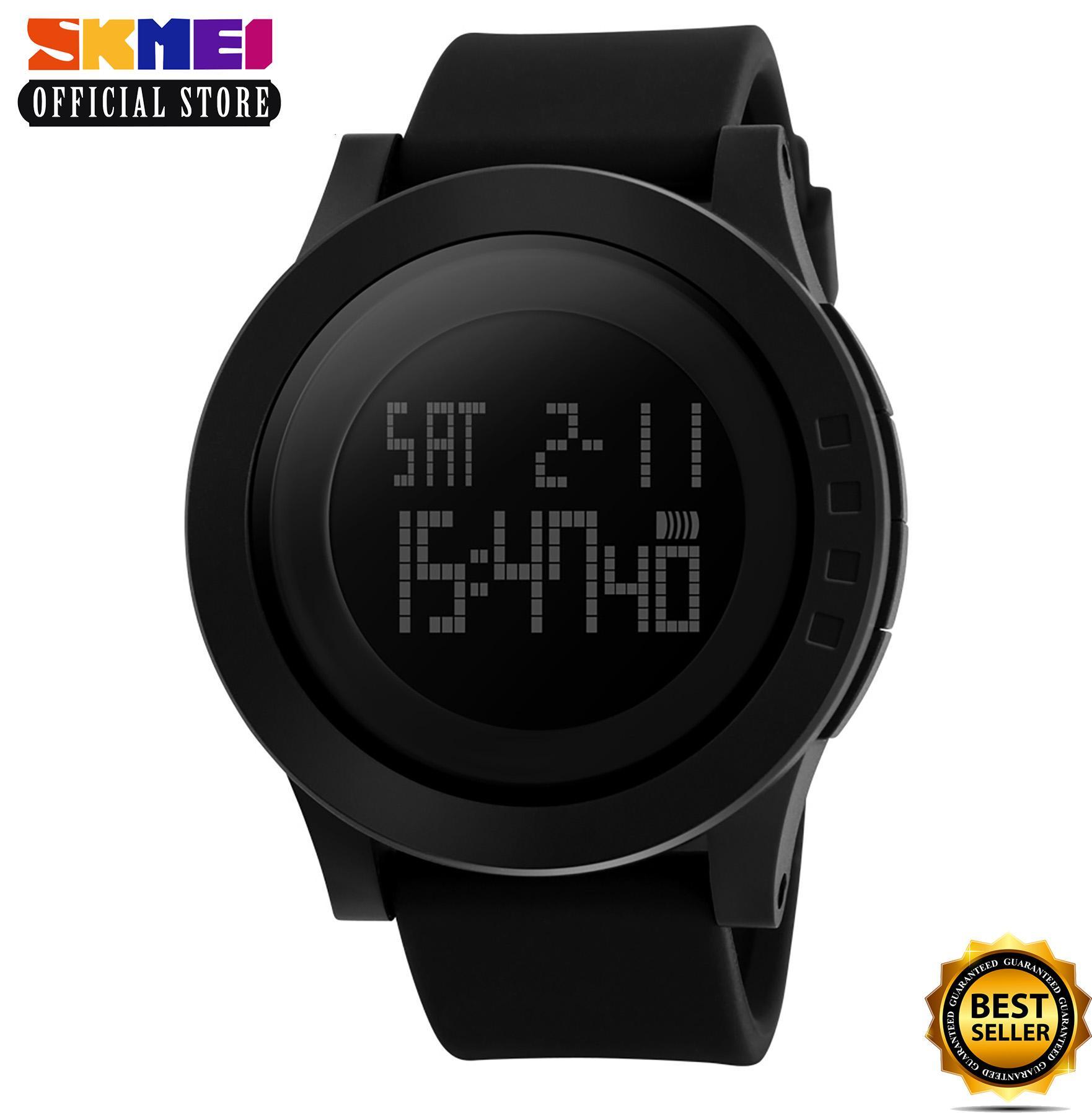 SKMEI 1142 (BLACK) Watch Men Military Sports Watches Fashion Silicone  Waterproof LED Digital Watch e114a8606e