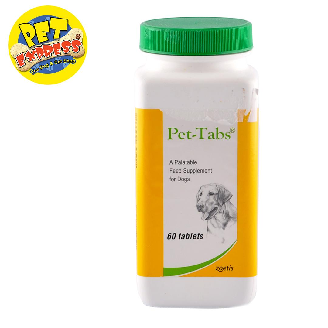 Pfizer Pet Tabs 60's (60 tablets in a plastic bottle)