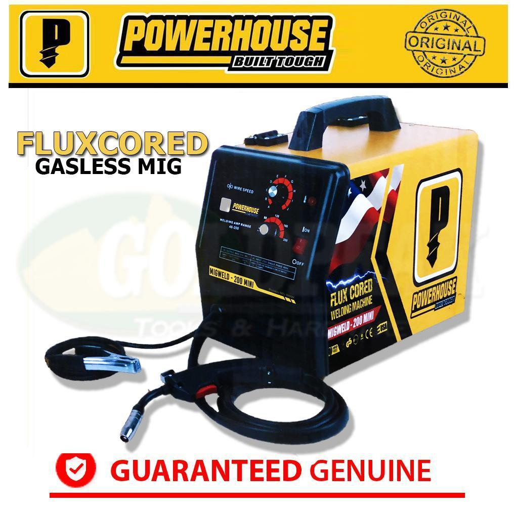 Welding For Sale Equipment Prices Brands Review In Wiring A 50 Amp Welder Plug Powerhouse Mig 200a Mini Dc Inverter Gasless Machine Fluxcored