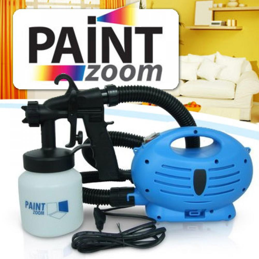 HBM Paint Zoom Spray Gun Ultimate Portable Painting Machine Home Tool Airless Sprayer (Blue/White) Philippines