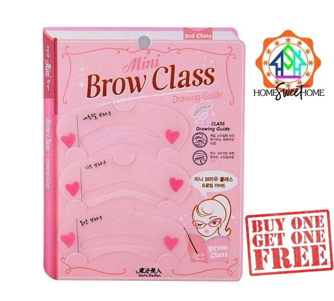 KOREAs Mini Brow Class Eyebrow Stencil Drawing Guide Philippines