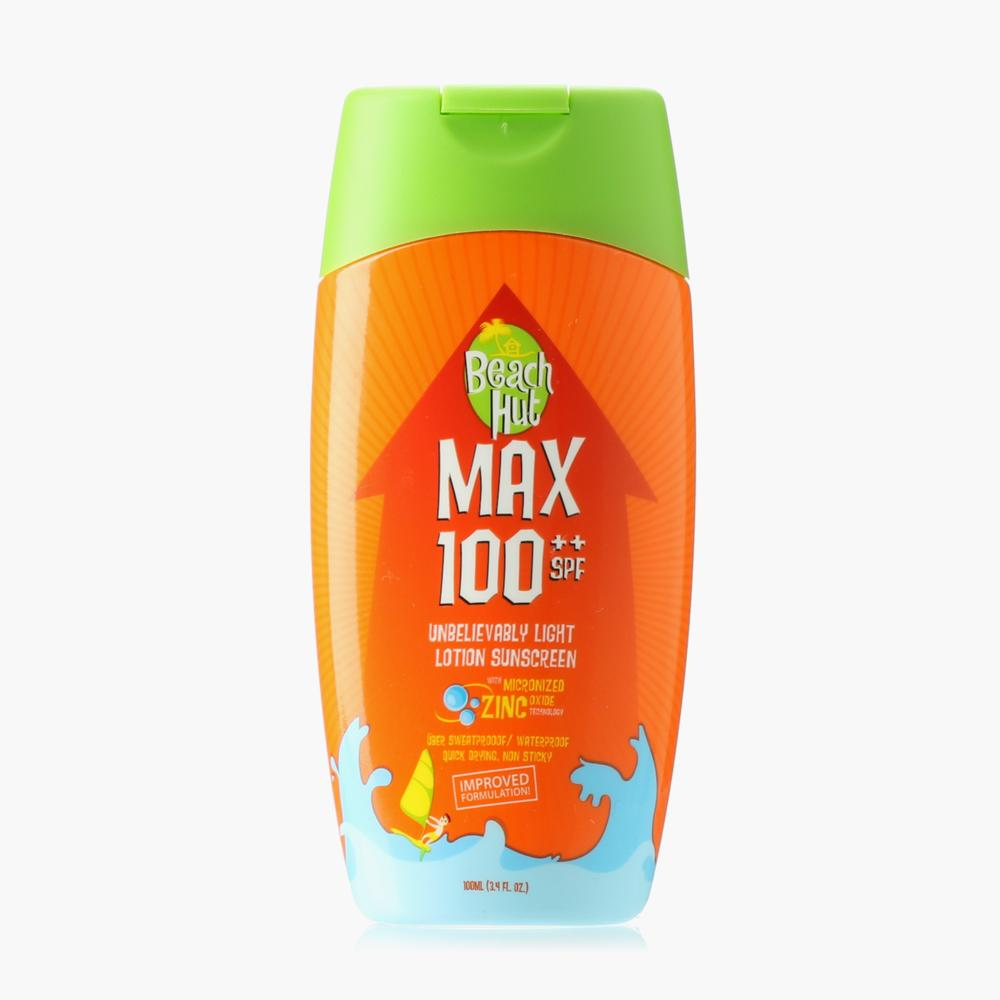 Beach Hut Max Sunscreen Lotion Spf100 100ml By The Sm Store.