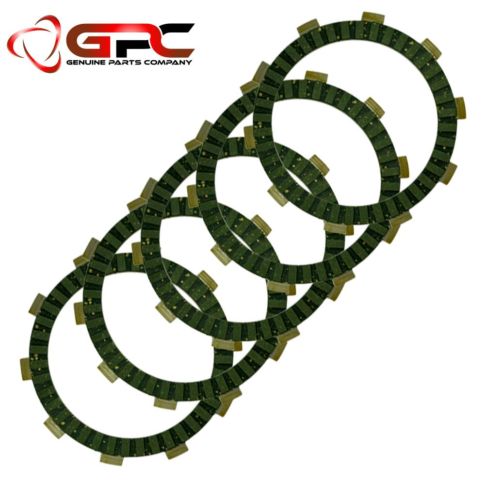 Gpc Clutch Lining Set For Barako 1/2 (5 Pcs) By Posh Motorcycle Shop.
