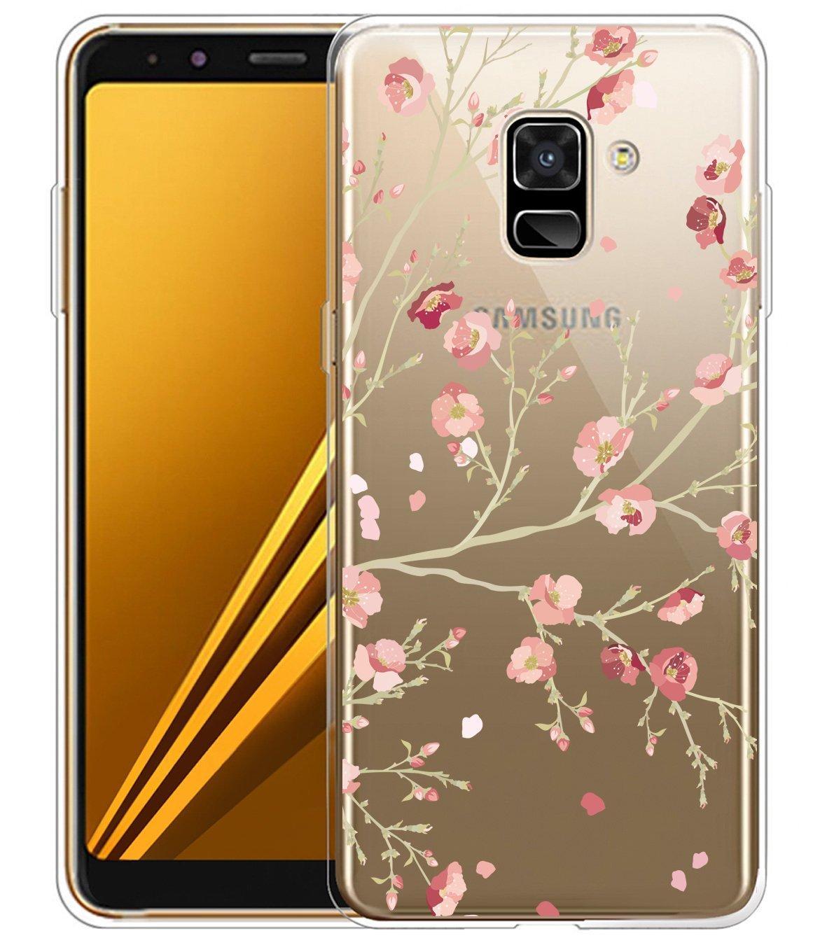 PHP 199. Rymall for Samsung Galaxy A8 2018 TPU Case Clear Ultra Slim ...