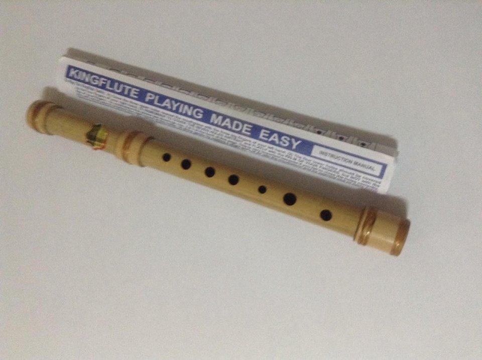 Kingflute Bamboo Flute Key Of C Natural Brown