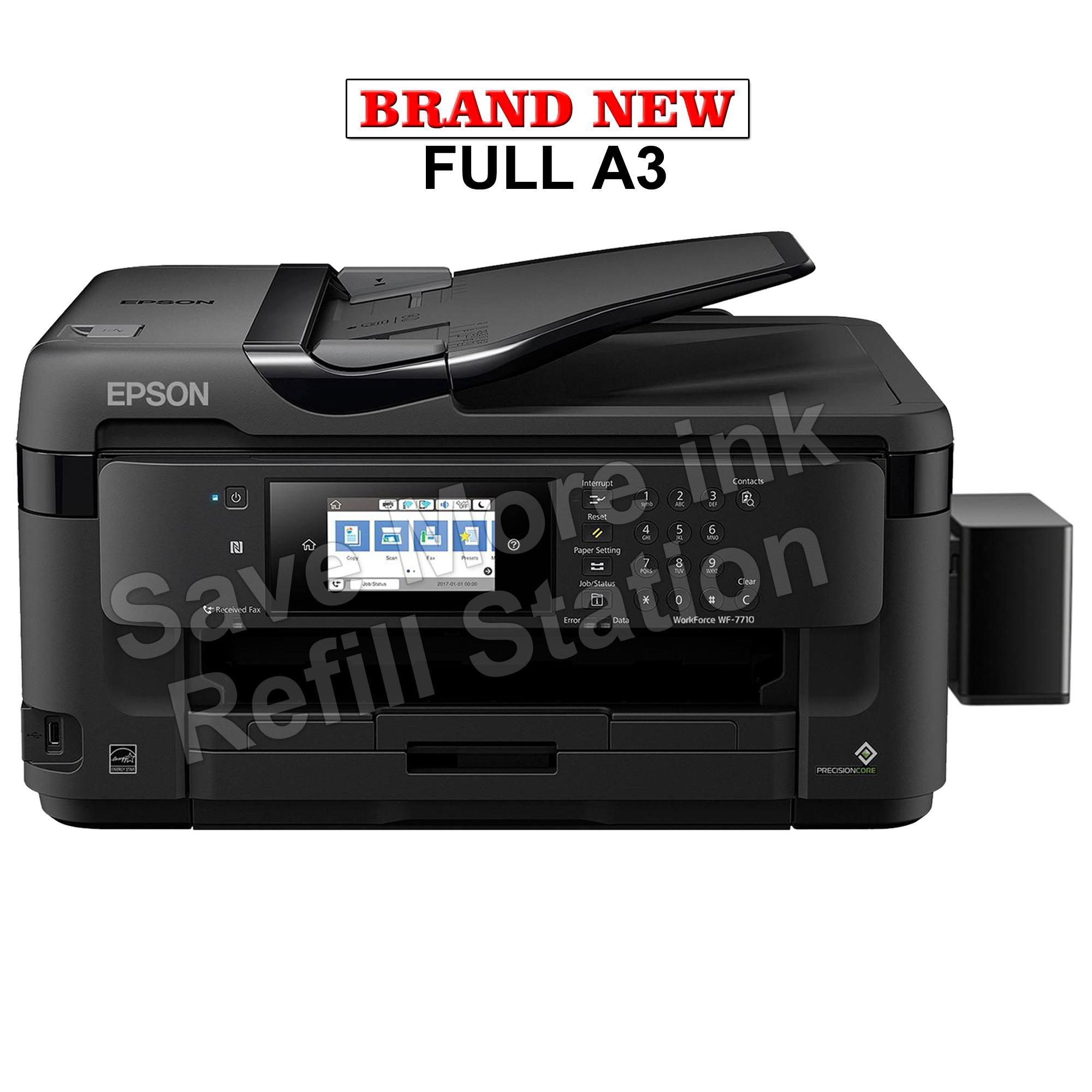 Epson Philippines Price List Printer Scanner Ink Head Tmu 220 New Workforce Wf 7710dwf A3 W Ciss No Inks 7710