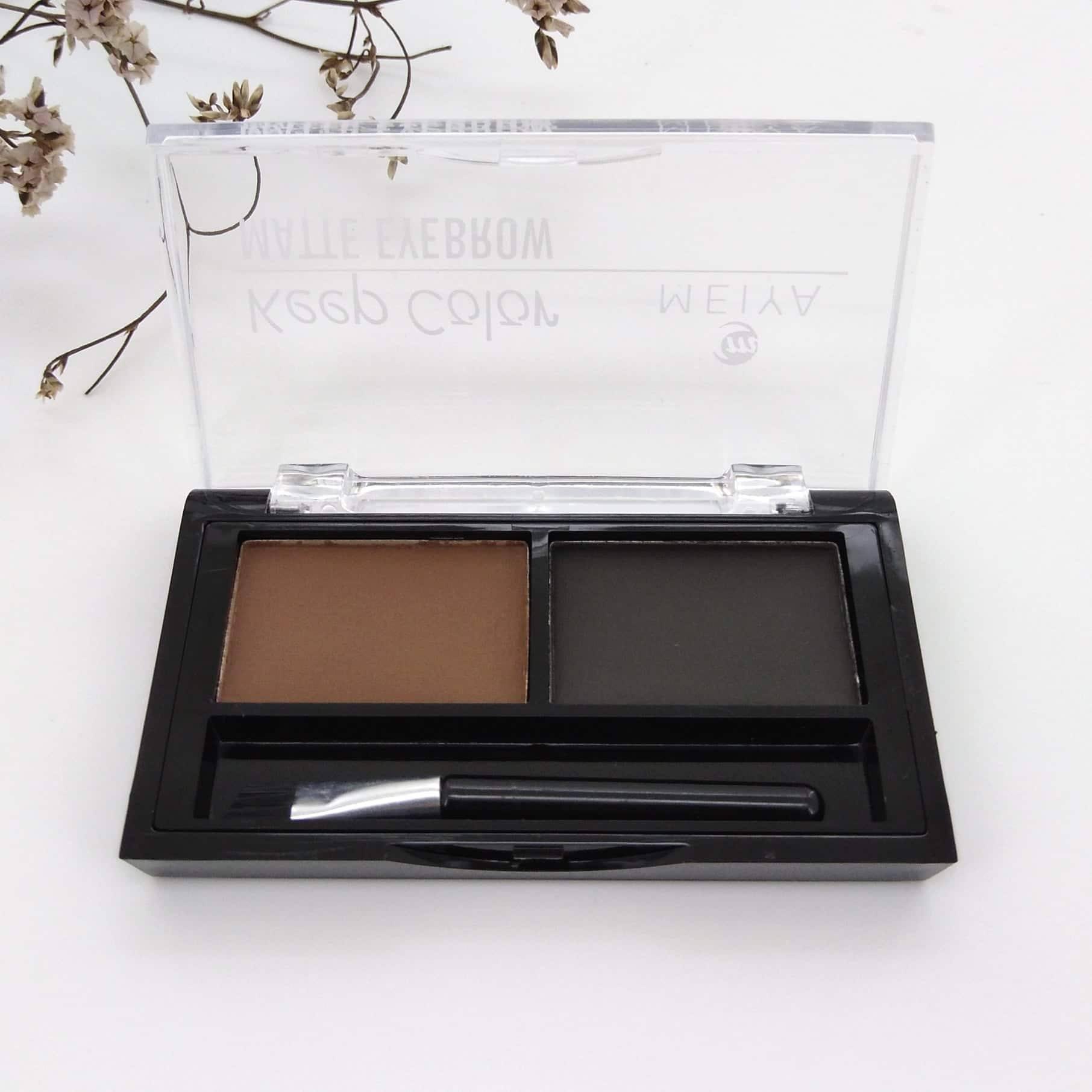MEIYA Keep Color Matte Eyebrow Powder with Brush (ME-008) Philippines