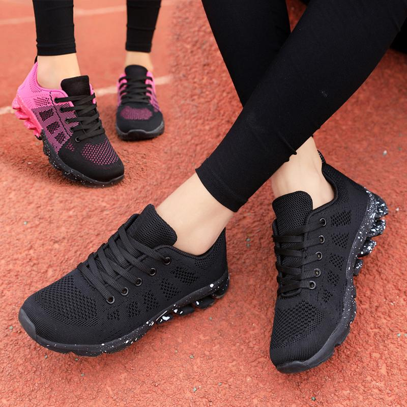 86e2f096ba36 2019 Spring New Style Athletic Shoes women Korean Style Versatile Shoe Flat  Students Punched Sheet Surface