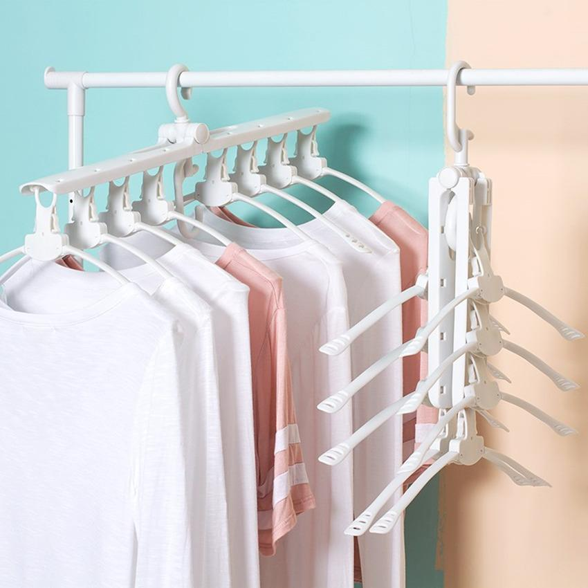 Rising Star Multifunctional Magic Hanger 360° Rotating Folding Clothes Racks