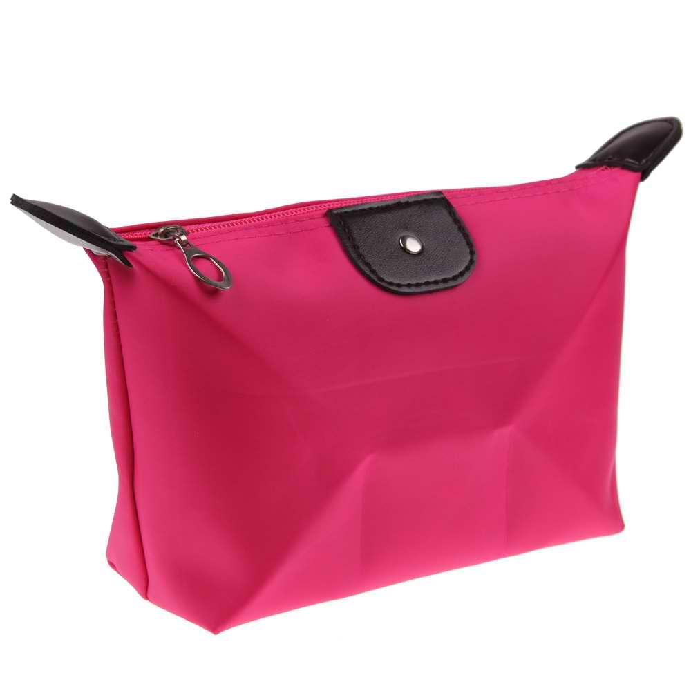 8410a39b89 AMOG Fashion Lady Women Travel Make Up Cosmetic pouch bag Clutch Handbag  Casual Purse