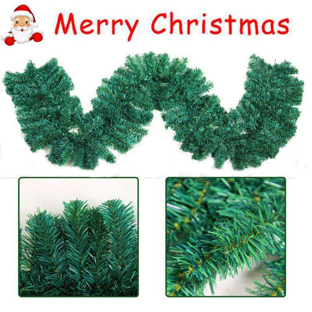 Fresh Christmas Tree Philippines.Artificial Pine Christmas Garland Pure Green 3m 9ft