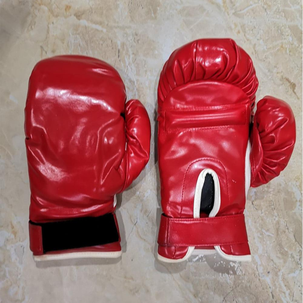Good Quality Thick Boxing Gloves Punching Gloves Red 28cm X 14cm X 7cm By Laotaihok.