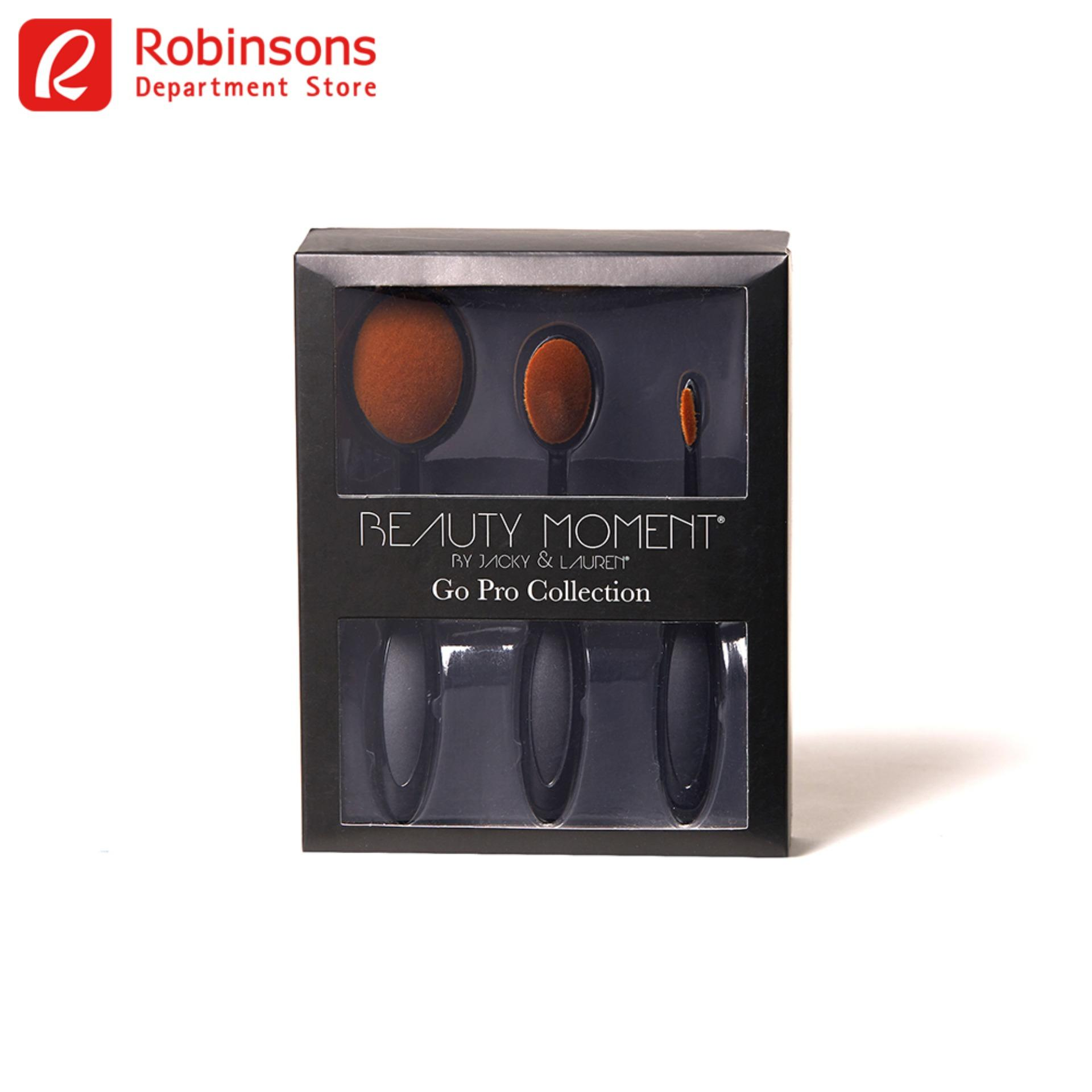 Beauty Moment 3Pc Paddle Brush Set Philippines