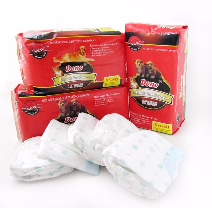 Dono Female Dog Disposable Diapers Extra Large 10's