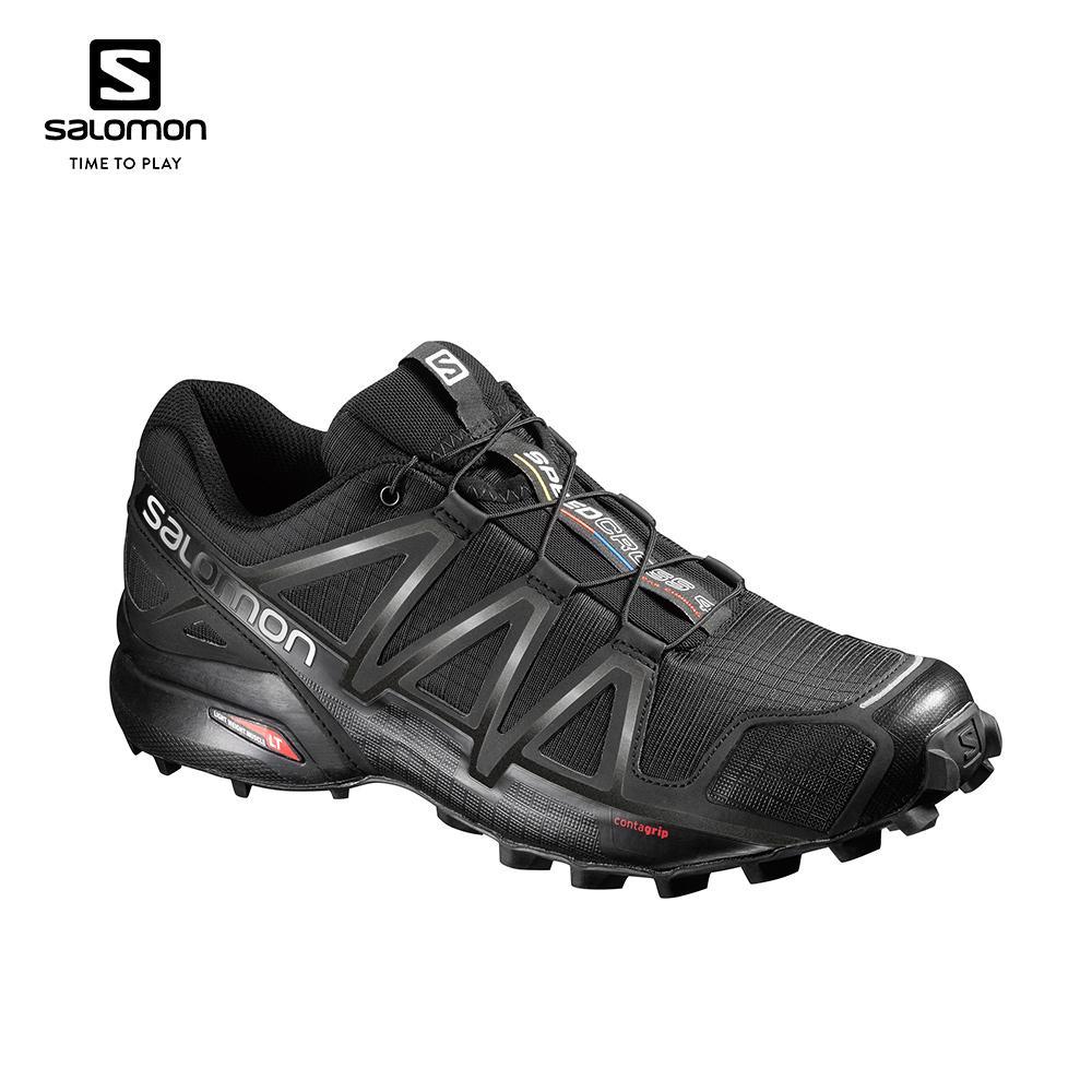 Salomon Speedcross 4 Men's Running Shoes (Black) 383130
