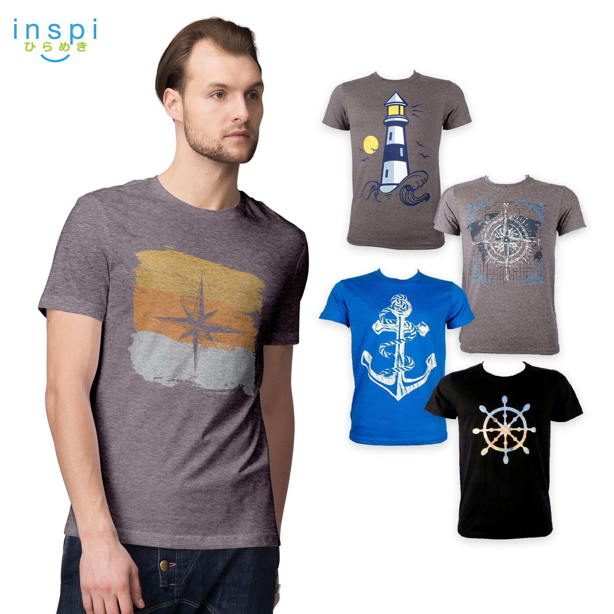 6d621017e INSPI Tees Navigate Collection tshirt printed graphic tee Mens t shirt  shirts for men tshirts sale