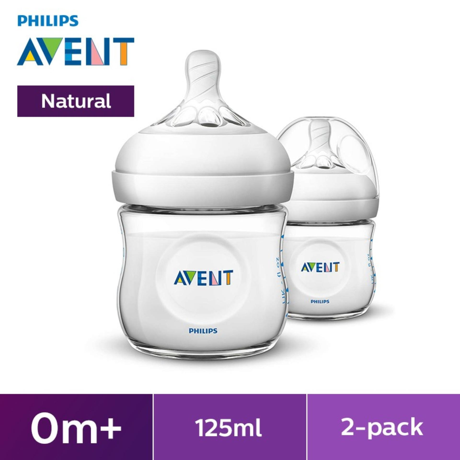 Philips Avent Natural 4oz Bottle Twin Pack By Lazada Retail Philips Avent.