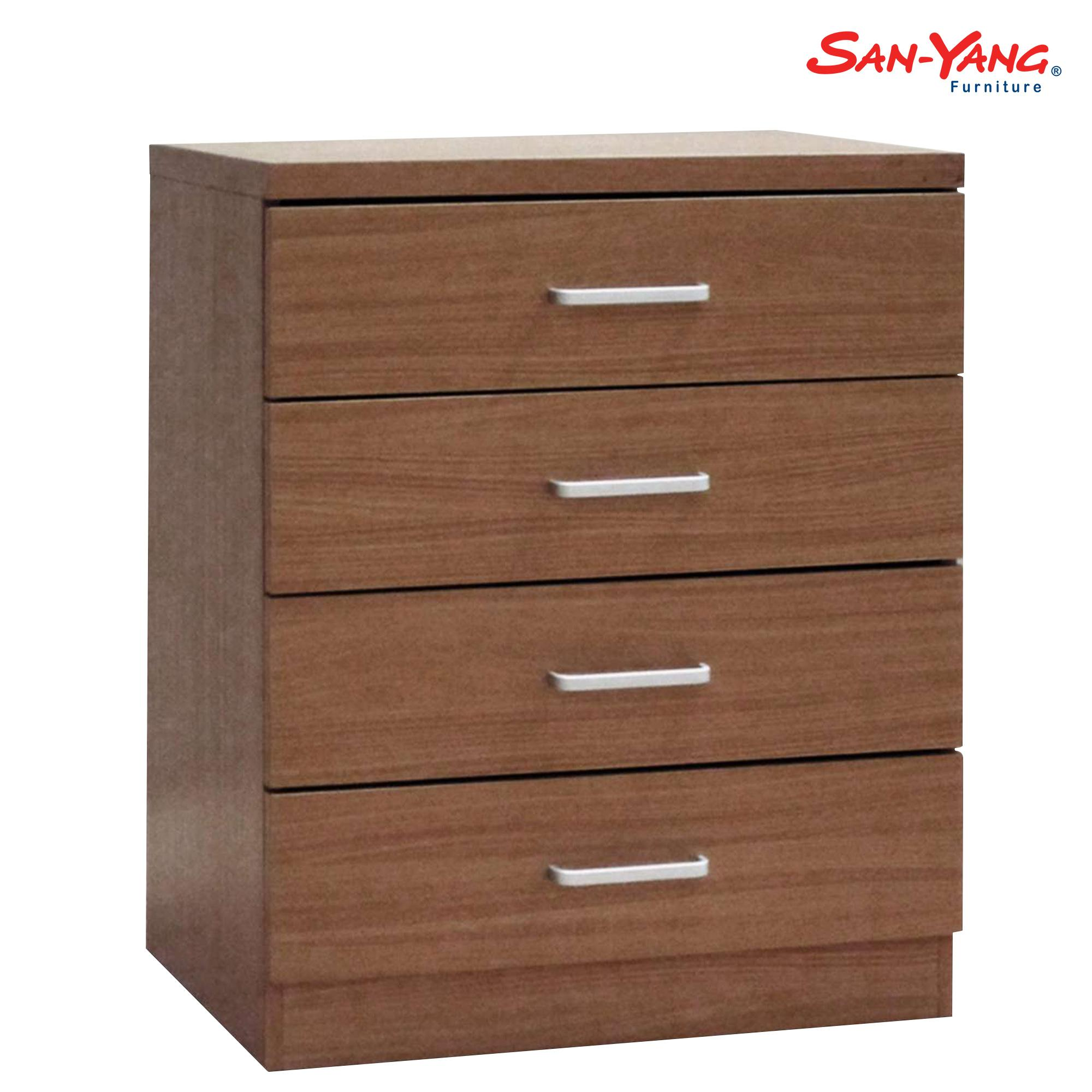 San yang chest drawer fcd5044 w oak