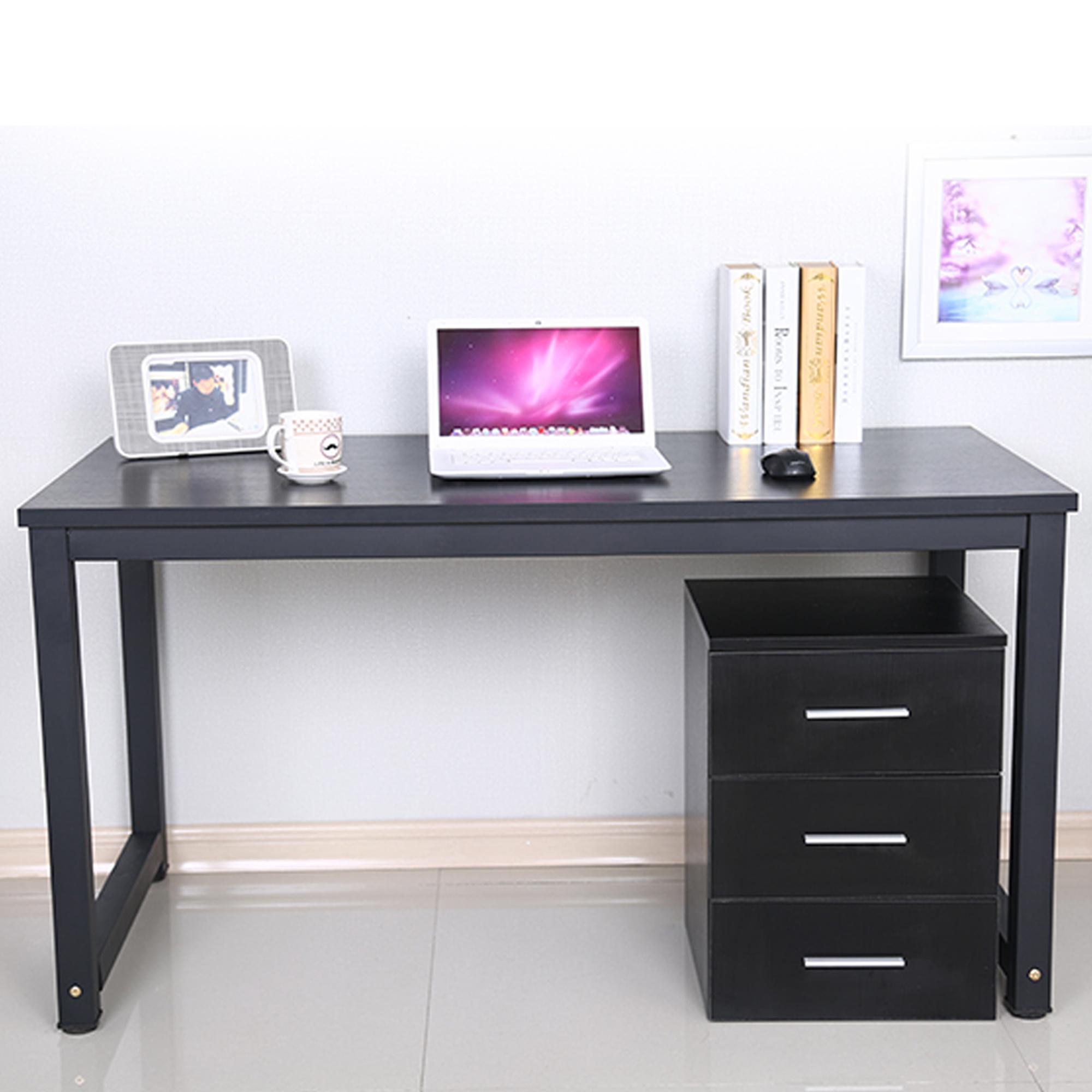 &#45 Immediately KRUZO Minimalist Home Office Desk Table BLACK