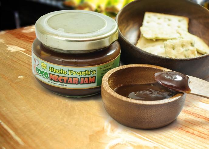 100% Natural Uncle Franks Coco Jam 140g By 2stopnshop.