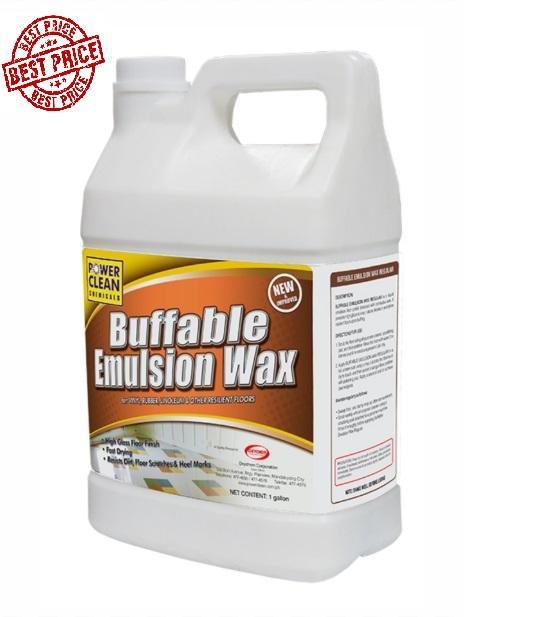 Best Price Concentrated Buffable Floor Wax Polish 1 Gallon Emulsion Shine 4 Liter By Pocket Savers.