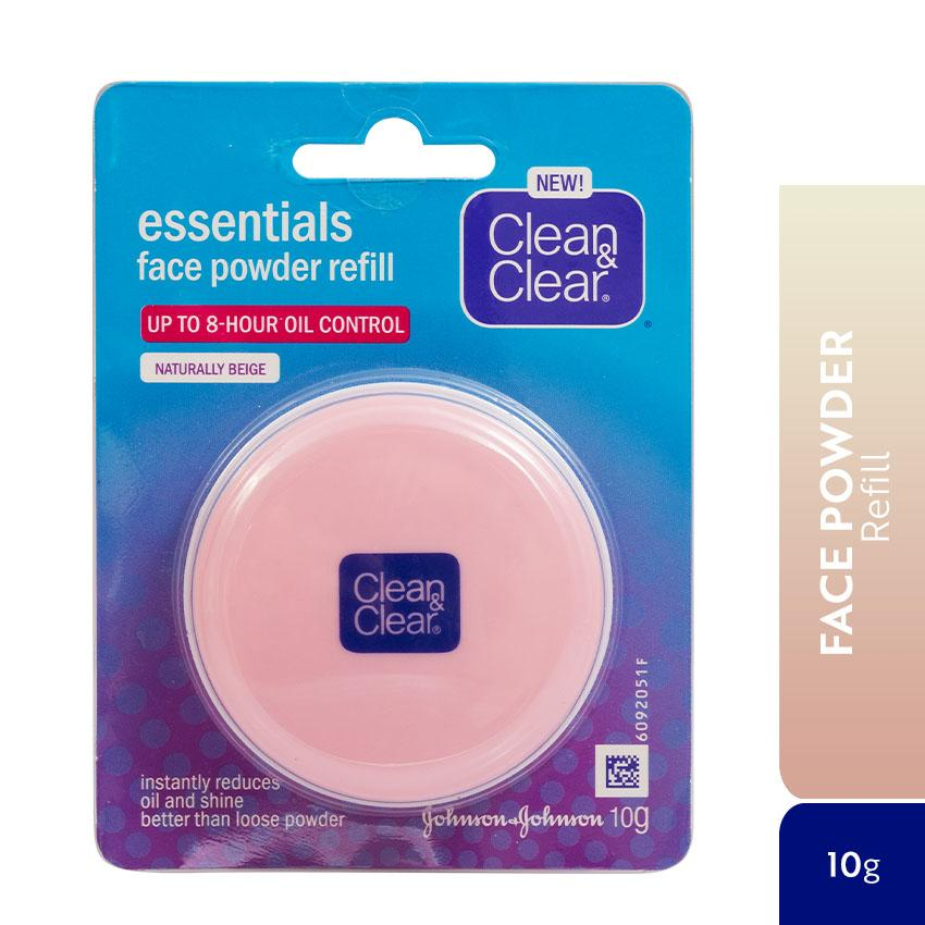 CLEAN & CLEAR® Essentials Face Powder Refill 10g (Beige) Philippines