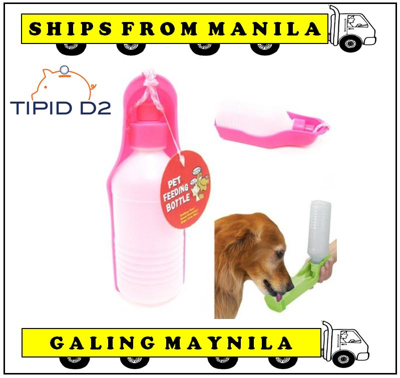 Ultralite Pet Portable Feeding Water Dispenser 500 Ml Bottle By Tipid D2.