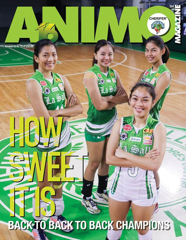 Animo Magazine Dlsu Lady Spikers Uaap Championship And Arch. Bart Vista By The Avenue.