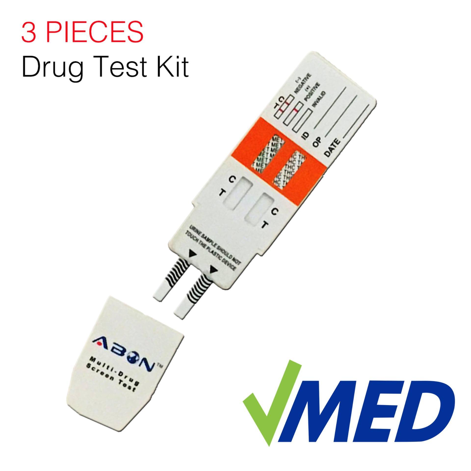 Drug Test Kit, THC and Meth 3pcs