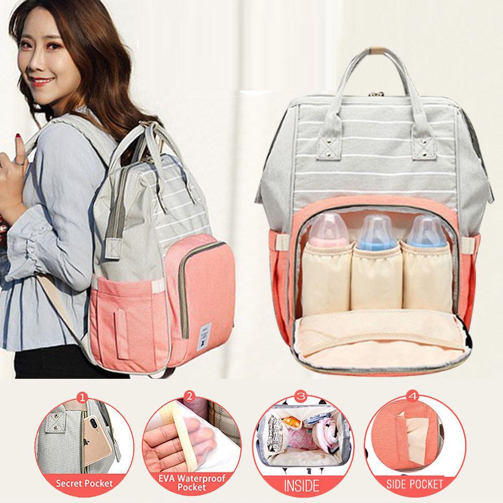 50b018eb16 Philippines. Diaper Bag Two Tone Diaper Backpack Mommy Bag Nappy Bag Mummy  Bag Nursing Bag Multi-