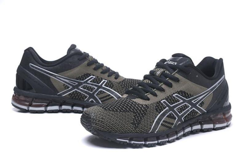 """low priced 9691f 22068 Asics Official """"ONITSUKA TIGER"""" Gel Quantum 360 KNIT Red Black MEN Running  Shoe High Quality"""