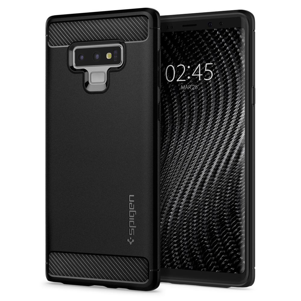 Spigen Galaxy Note 9 Case Rugged Armor Matte Black